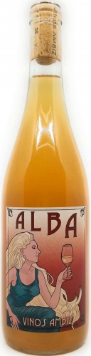 VINOS AMBIZ ALBA Albillo Real Orange Wine 2019
